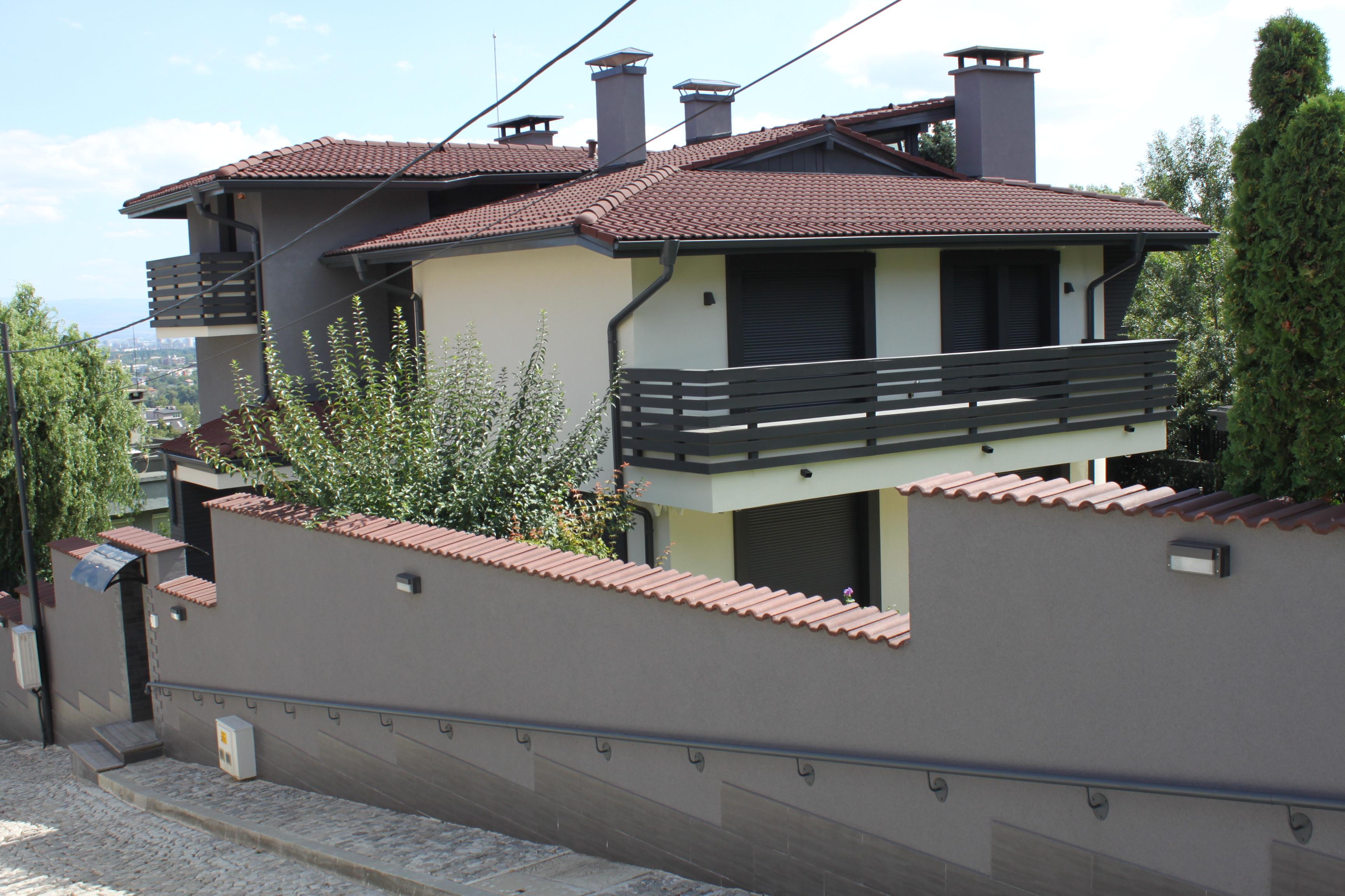 Енергоспестяваща еднофамилна къща в кв. Бояна