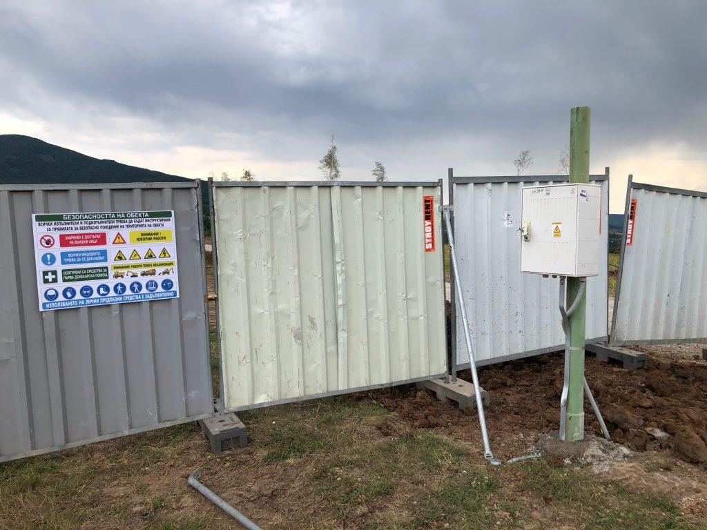 01.08.2019 – Изграждане на временно електрозахраване